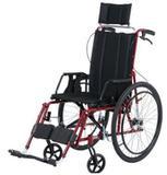 Cadeira de Rodas Angra Pneu Inflável Preta 40 cm - CARONE