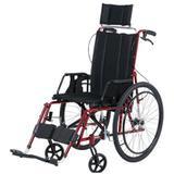 Cadeira de Rodas Angra Pneu Inflável Vinho 40 cm - CARONE