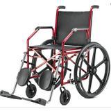 Cadeira de Rodas C/ Elevação Pneu Maciço 1012 Jaguaribe - Ortopedia jaguaribe industria e comercio
