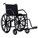 Cadeira De Rodas Cds 101 Cinza Rodas de Nylon Com Pneus Maciços