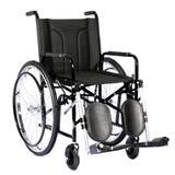 Cadeira de Rodas com elevação panturrilha Dobrável em X CDS