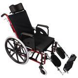 Cadeira de Rodas com Encosto Reclinável e Apoio de Panturrilha - Tetra - Prolife