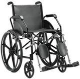 Cadeira de Rodas Com Pé Eleváveis Jaguaribe 1016