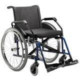 Cadeira de Rodas em Aço p/ Obesos Poty Baxmann Jaguaribe