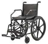 Cadeira de Rodas Jaguaribe Dobrável 1017 Plus