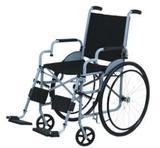 Cadeira de Rodas Leblon Pneu Inflável Cinza 44 cm - CARONE