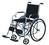 Cadeira de Rodas Leblon Pneu Maciço Cinza 44 cm - CARONE