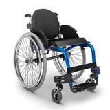 Cadeira de Rodas Monobloco M3 Ortobras Uso Ativo Alumínio Peso Leve com Encosto Rígido Hummel preto 40cm