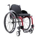 Cadeira de Rodas Monobloco M3 Premium Ortobras Alumínio Peso Leve com Encosto Rígido Hummel preto 44cm