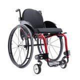 Cadeira de Rodas Monobloco M3 Premium Ortobras Alumínio Peso Leve com Encosto Rígido Hummel preto 50cm