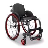 Cadeira de Rodas Monobloco M3 Premium Ortobras Uso Ativo Alumínio Peso Leve com Encosto Rígido Hummel C2904E 40cm