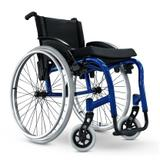 Cadeira de Rodas Monobloco Star Lite Ortobras Alumínio Peso Leve 0009FF 45cm