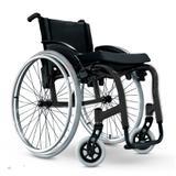 Cadeira de Rodas Monobloco Star Lite Ortobras Alumínio Peso Leve branco 45cm