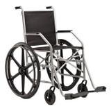 Cadeira de Rodas Pneu Maciço 1009 Jaguaribe - Ortopedia jaguaribe industria e comercio