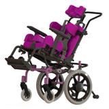 Cadeira de Rodas Postural T1 Ortobras com Sistema de Crescimento e Capota para Sol