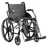 Cadeira de Rodas Semi Obeso C/ Elevação 1016PI Jaguaribe - Ortopedia jaguaribe industria e comercio