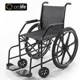 Cadeira de Rodas Simples com Pneu Inflavel Prolife PL002