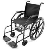 Cadeira de Rodas Simples com Pneu Maciço Prolife PL001