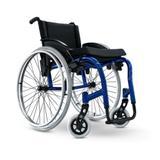 Cadeira de Rodas Star Lite Monobloco - Ortobras - Largura de Assento 40 cm - Azul