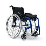 Cadeira de Rodas Star Lite Monobloco - Ortobras - Largura de Assento 45 cm - Azul