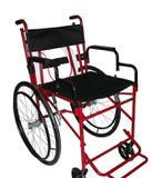 Cadeira de Rodas Versátil 44 cm Vinho - Carone