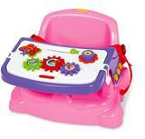 Cadeira didatica e papinha rosa - Poliplac