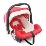 Cadeira para Auto 0 a 13kgs Bebê Conforto Vermelho/Bege Baby Style