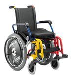 Cadeira rodas agile infantil 36 colorida jaguaribe - Baxmann