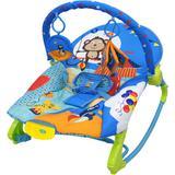 Cadeirinha bebê musical vibratória azul varias posições - Color baby