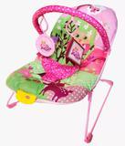 Cadeirinha de descanso bebê rosa com musica e vibração - Color baby