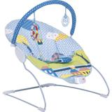 Cadeirinha de Descanso Infantil Kiddo Vibratória Balanço Joy - Até 11 Kg - Azul