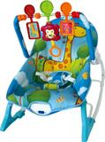 Cadeirinha de Descanso para Bebês (Base Curva) com Vibração e Som - Importway