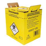 Caixa Coletor Materiais Perfurocortante Descarpack 20 Litros