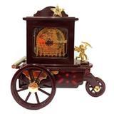 Caixa De Música Vintage Carruagem - Versare anos dourados