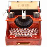 Caixa De Música Vintage Máquina De Escrever - Versare anos dourados