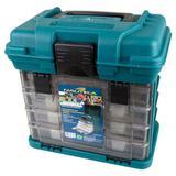 Caixa de Pesca Organizadora Plastica Multibox MB1 4 Gavetas NTK