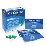 Caixa de Tiras Teste Com 25 unid para Monitor de Glicose On Call Plus