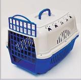 Caixa de Transporte Cães e Gatos Nº 1 Cor Azul - Durapets