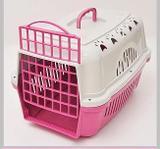 Caixa de Transporte Cães e Gatos Nº 1 Cor Rosa - Durapets