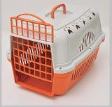 Caixa de Transporte Cães e Gatos Nº 2 Cor Laranja - Durapets