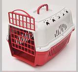 Caixa de Transporte Cães e Gatos Nº 2 Cor Vermelho - Durapets