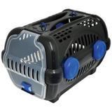 Caixa De Transporte Luxo Nº 2 - Black/Azul - Beg toys