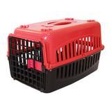 Caixa de Transporte n3 para cachorro Tampa Vermelha - Rb pet