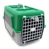 Caixa de Transporte Nº 1 para Animais Polymer - Verde