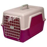 Caixa de Transporte P/ Cães e Gatos Rosa 30x31x49 cm - Polymer