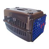 Caixa de Transporte para cachorros n3 Porta Azul - Rb pet