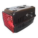 Caixa de Transporte para cachorros n3 Porta Vermelha - Rb pet