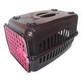 Caixa de Transporte para caes n2 Porta Rosa - Rb pet