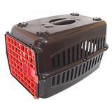 Caixa de transporte para gato N1 cães pequenos porta colorida - Rb pet