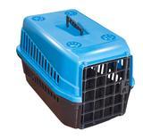 Caixa de Transporte para PET Gato Cachorro Número 3 Azul - Mecpet
